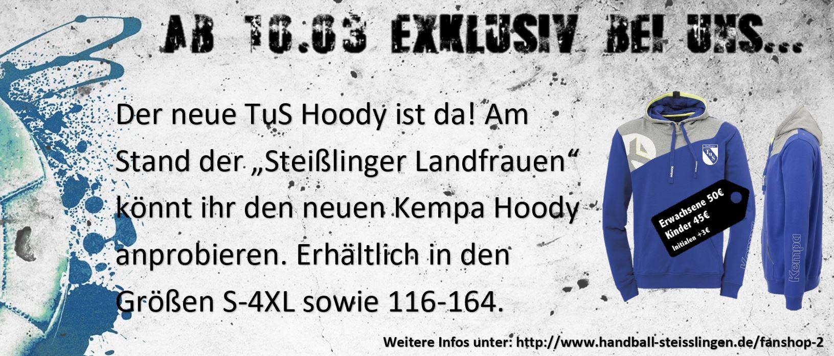 Banner HP - TuS Hoody