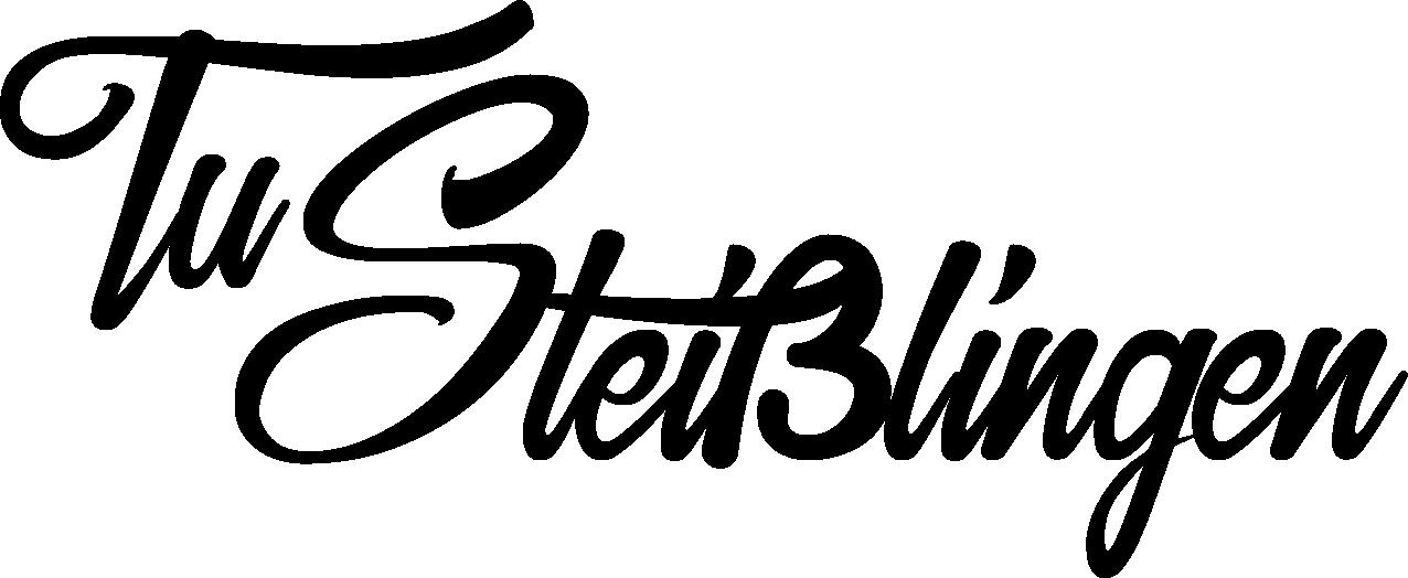 Schriftzug TuS Steißlingen schwarz