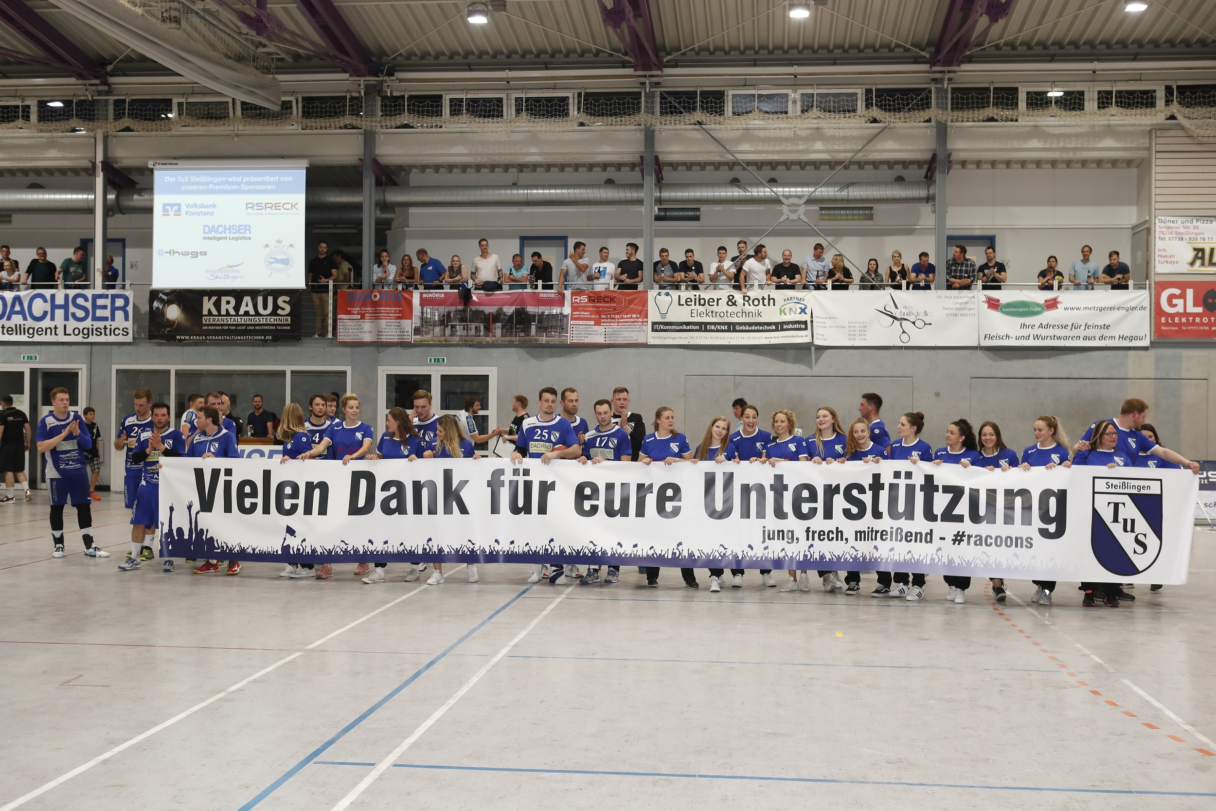 Im Bild:  beim Spiel in der BW Oberliga zwischen dem TuS Steißlingen und dem TSV Weinsberg in der Mindlestalhalle in Steißlingen