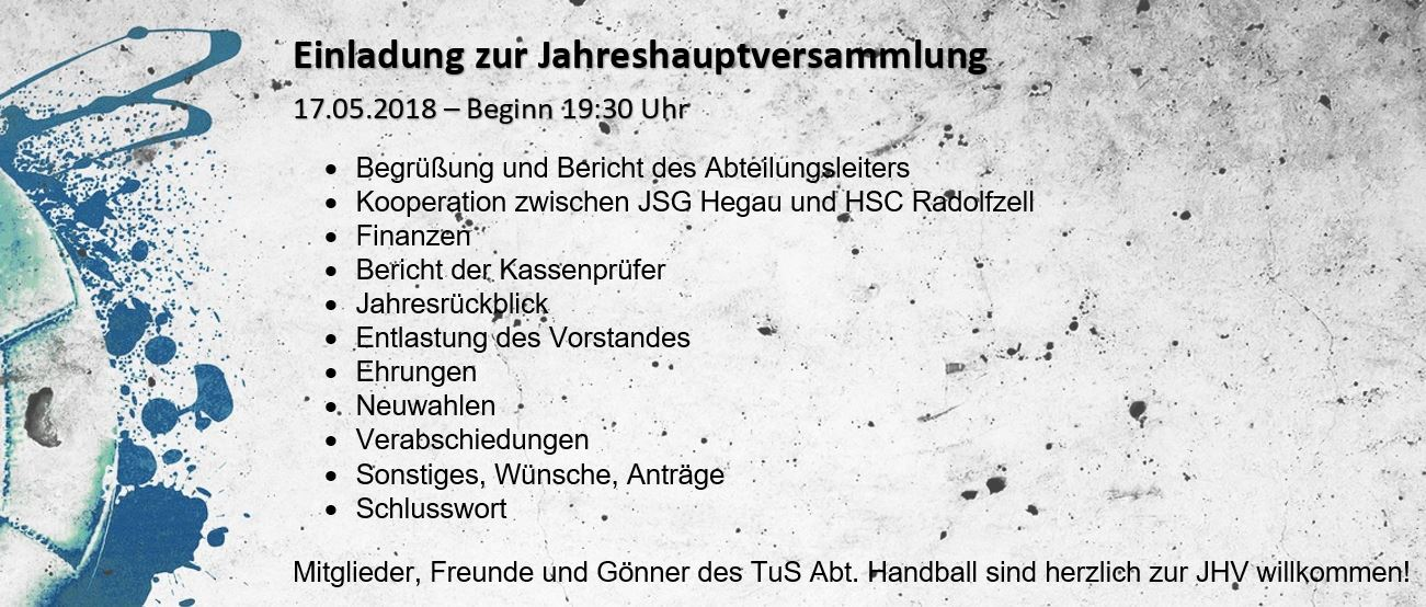 Flyer - JHV