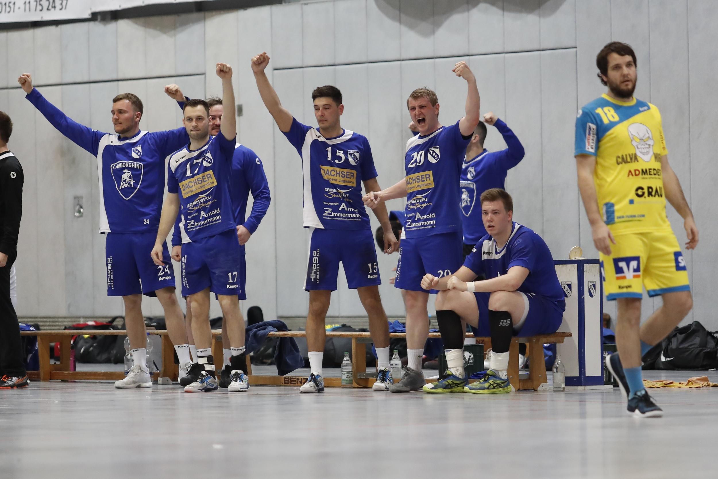 beim Spiel in der BW Oberliga zwischen dem TuS Steißlingen und der TSG Pforzheim Eutingen in der Mindlestalhalle in Steißlingen