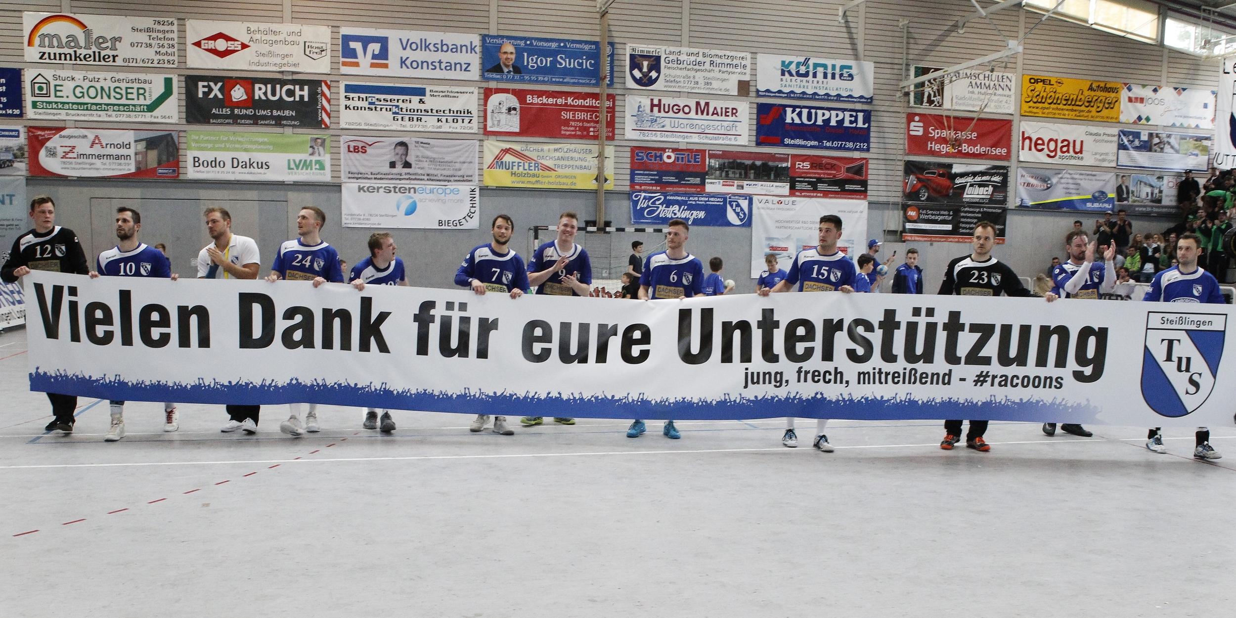 beim Spiel in der BW Oberliga zwischen dem TuS Steißlingen und dem TV Weilstetten n der Mindlestalhalle in Steißlingen
