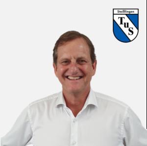 Markus Stich mit Logo