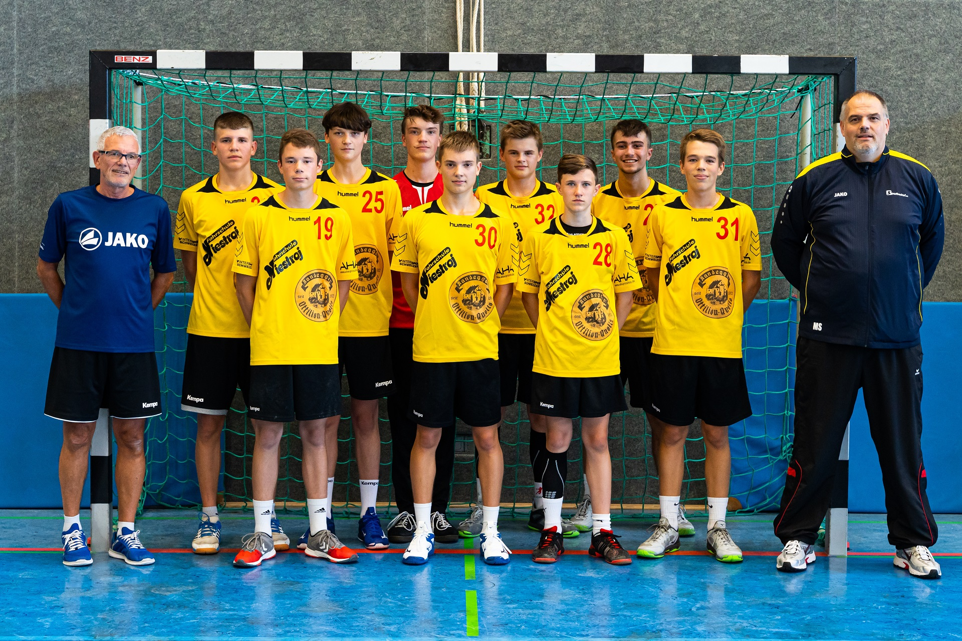2020-2021 - Manschaftsbild JSG Hegau B-Jugend