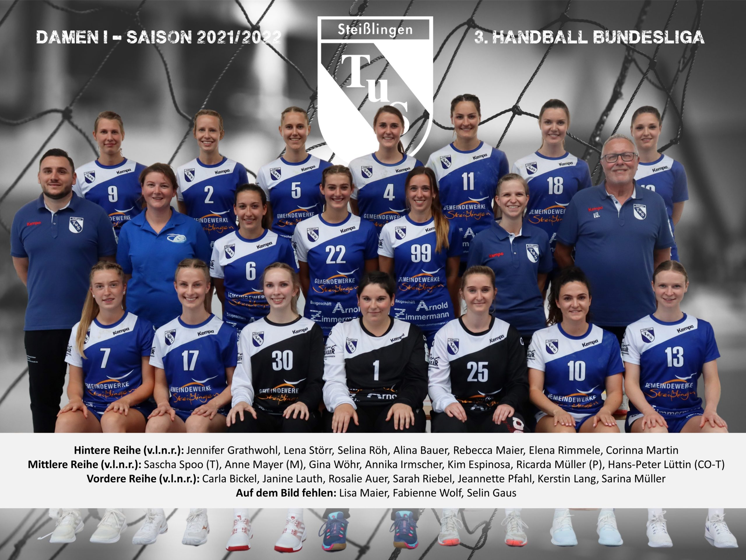 2021-2022 - Mannschaftsbild - Damen I