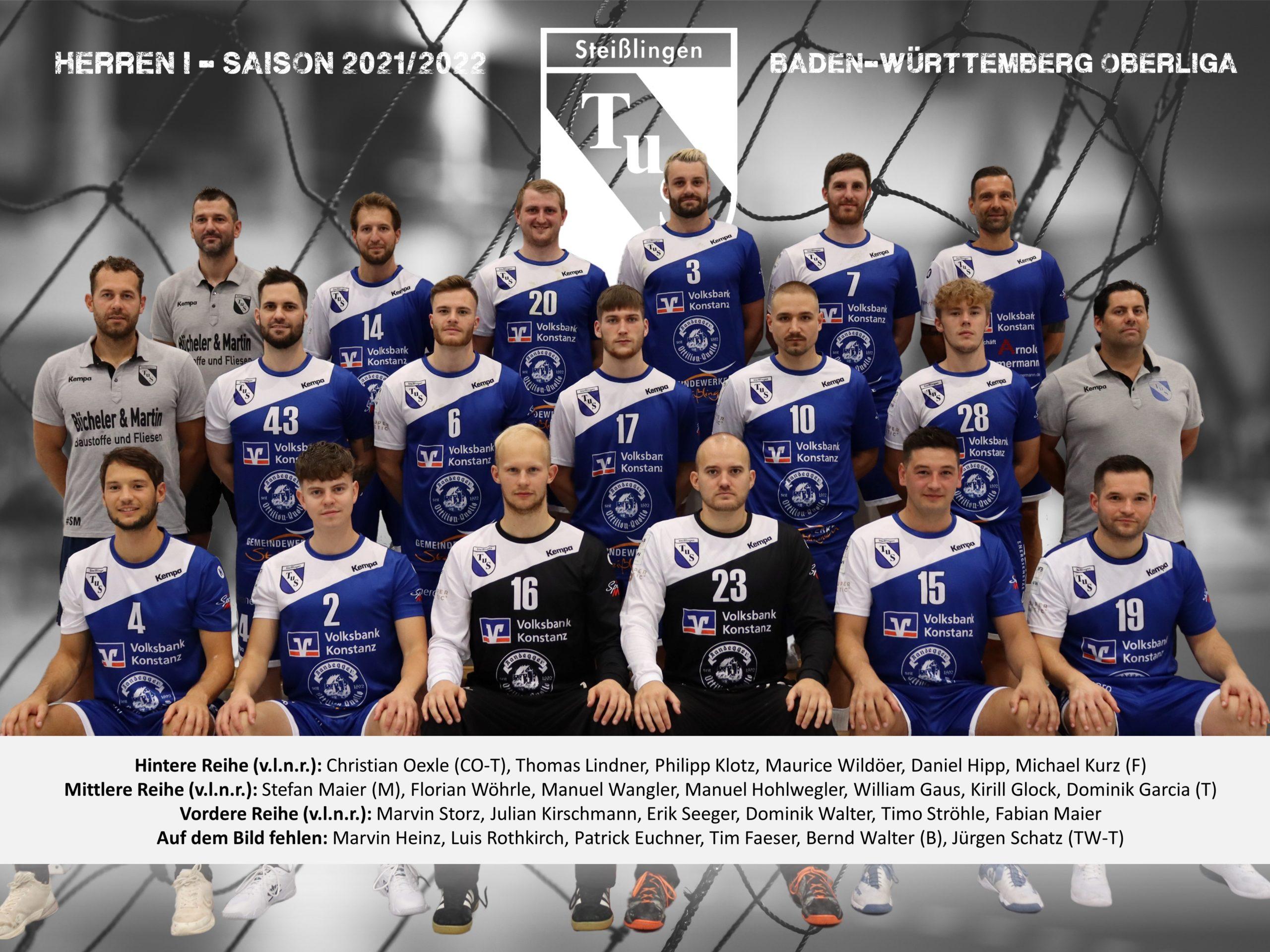 2021-2022 - Mannschaftsbild - Herren I