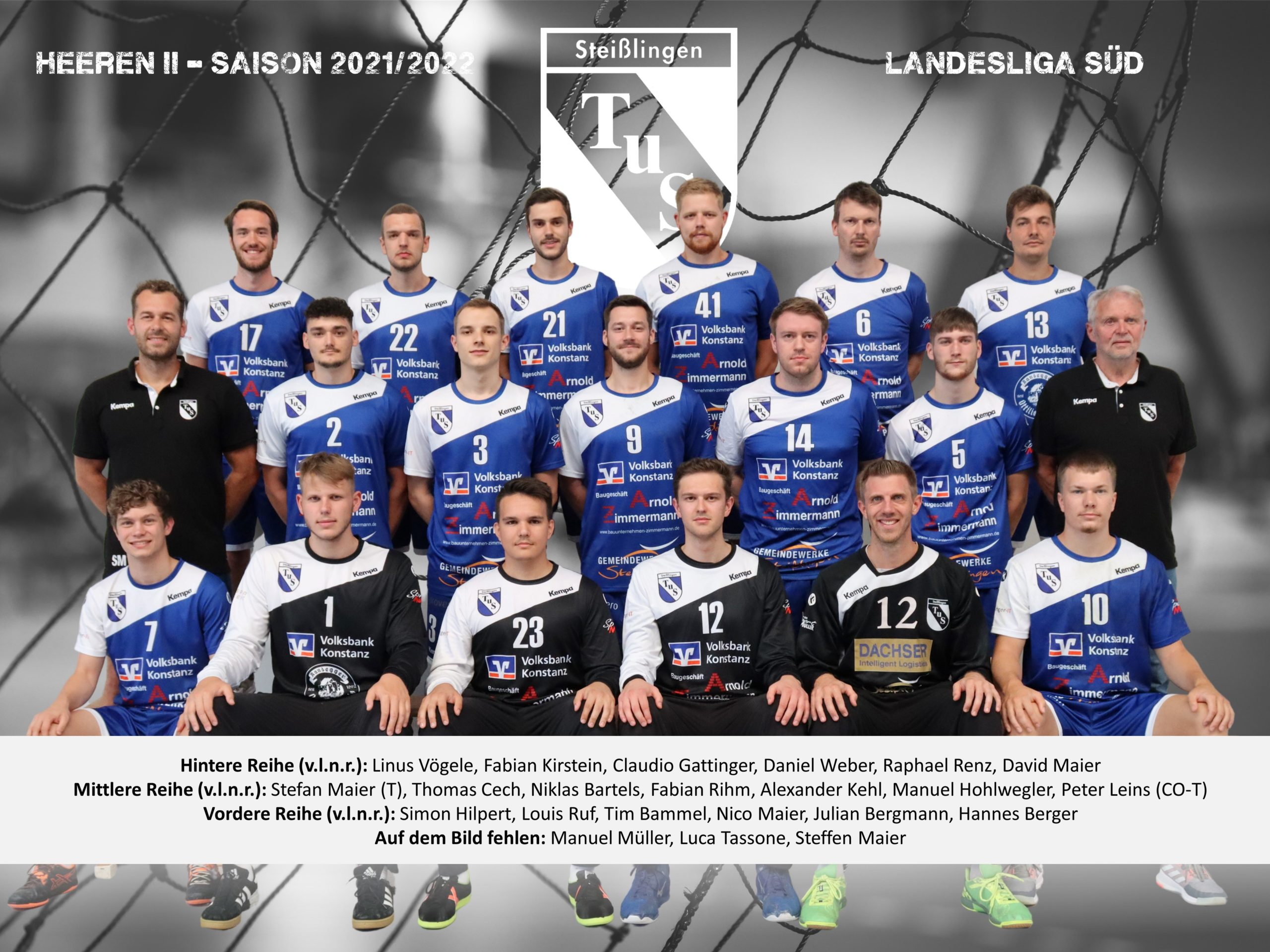 2021-2022 - Mannschaftsbild - Herren II